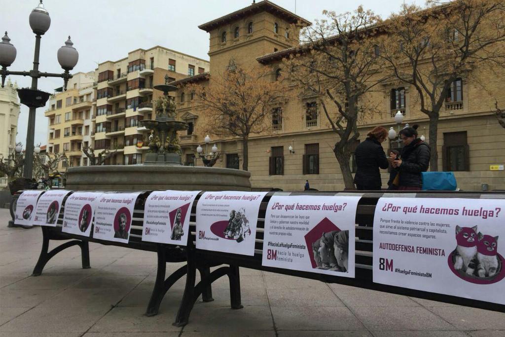 [FOTOS] La huelga feminista en Uesca
