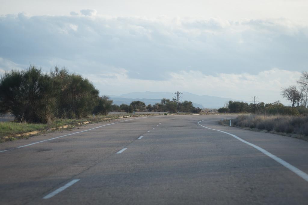 Un ciclista fallece tras ser atropellado por un turismo en la A-125, en Exeya d'os Caballers