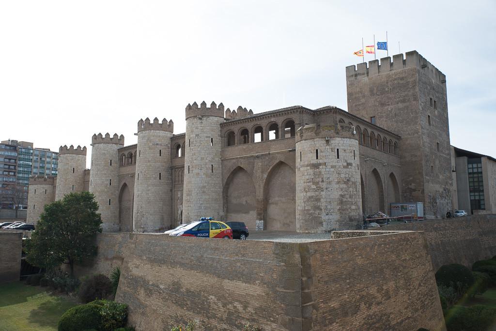 CHA propone que las Cortes obtengan la propiedad de los 'Arcos de La Aljafería'