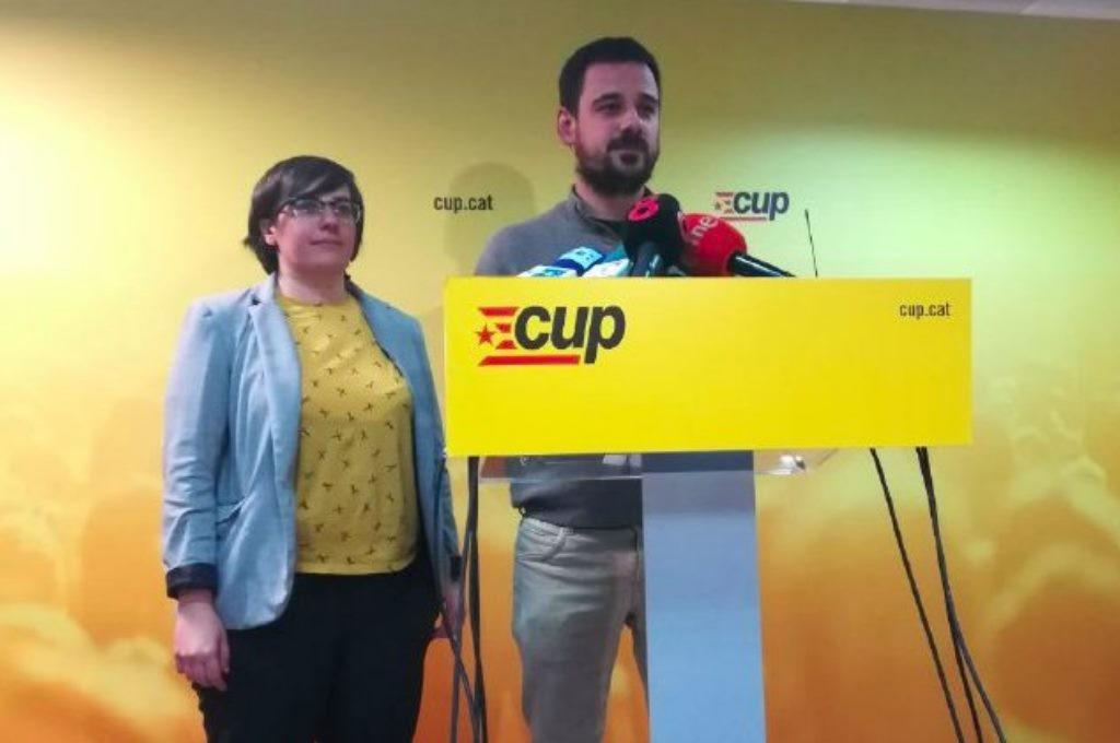 La investidura de Jordi Turull no obtiene el apoyo de la CUP