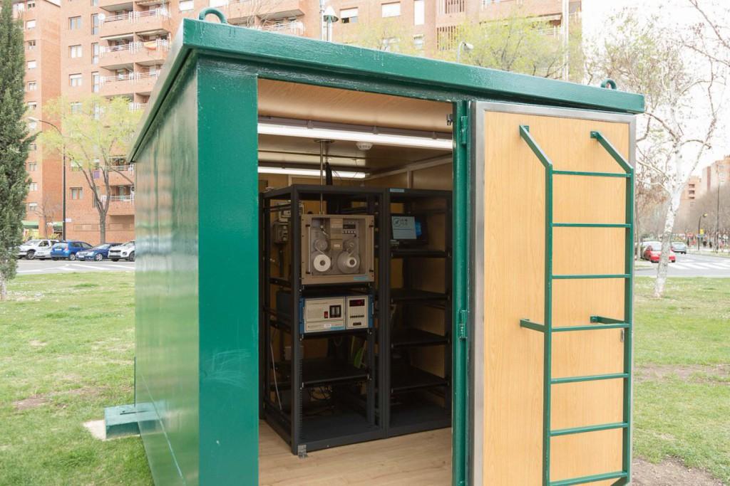 Una nueva estación en el Actur se suma a la Red de Control de la Calidad del Aire en Zaragoza