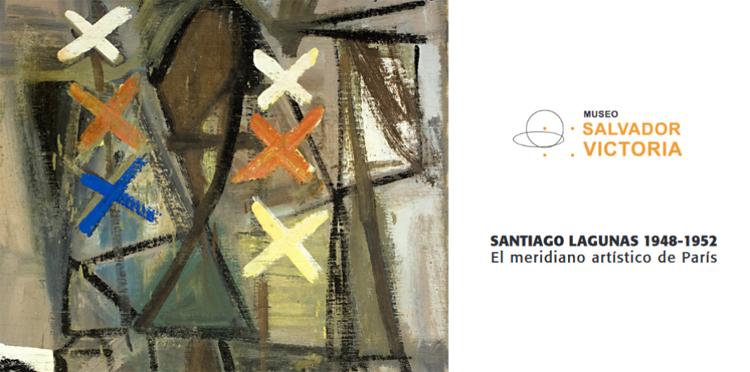Las obras de Santiago Lagunas se exponen en el Museo Salvador Victoria de Rubielos de Mora