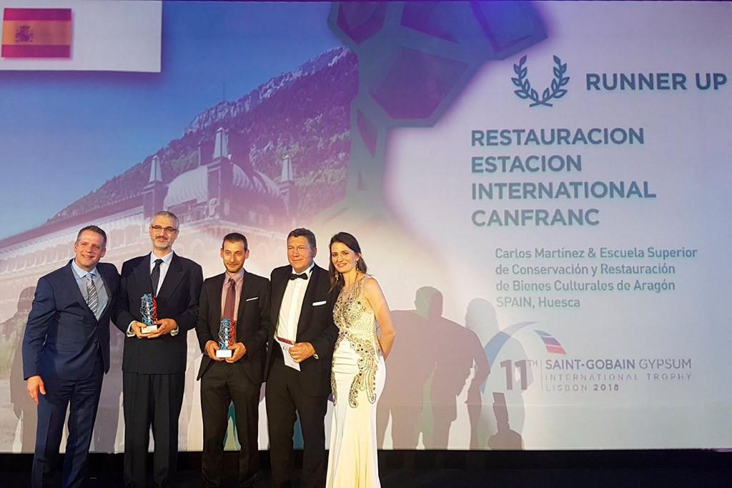 La reconstrucción del vestíbulo de la estación de Canfranc, gana un premio de excelencia internacional