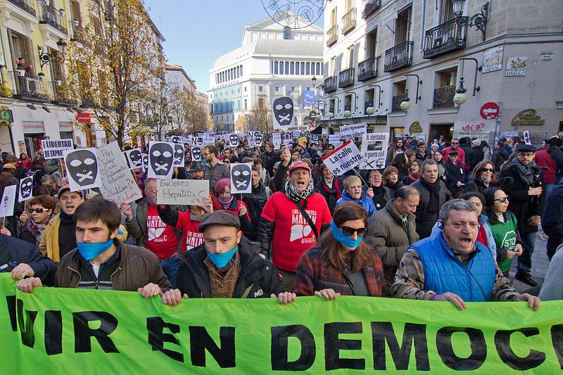 Colectivos de todos los territorios del Estado se movilizarán el 17 de marzo en rechazo a la Ley Mordaza