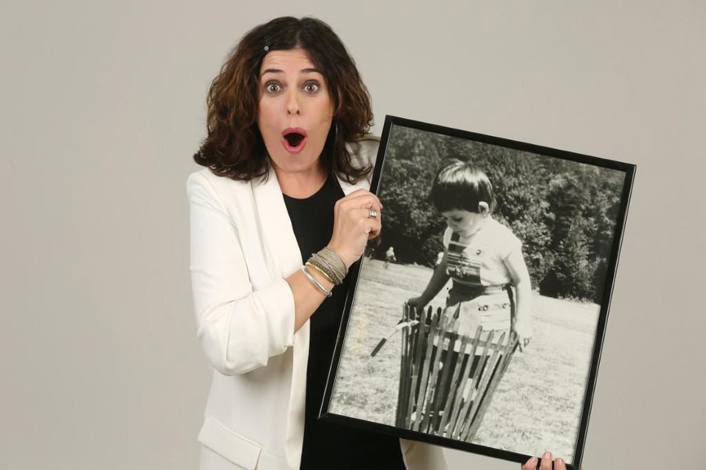 La actriz Neus Sanz trae un pedacito de ella al Teatro de las Esquinas