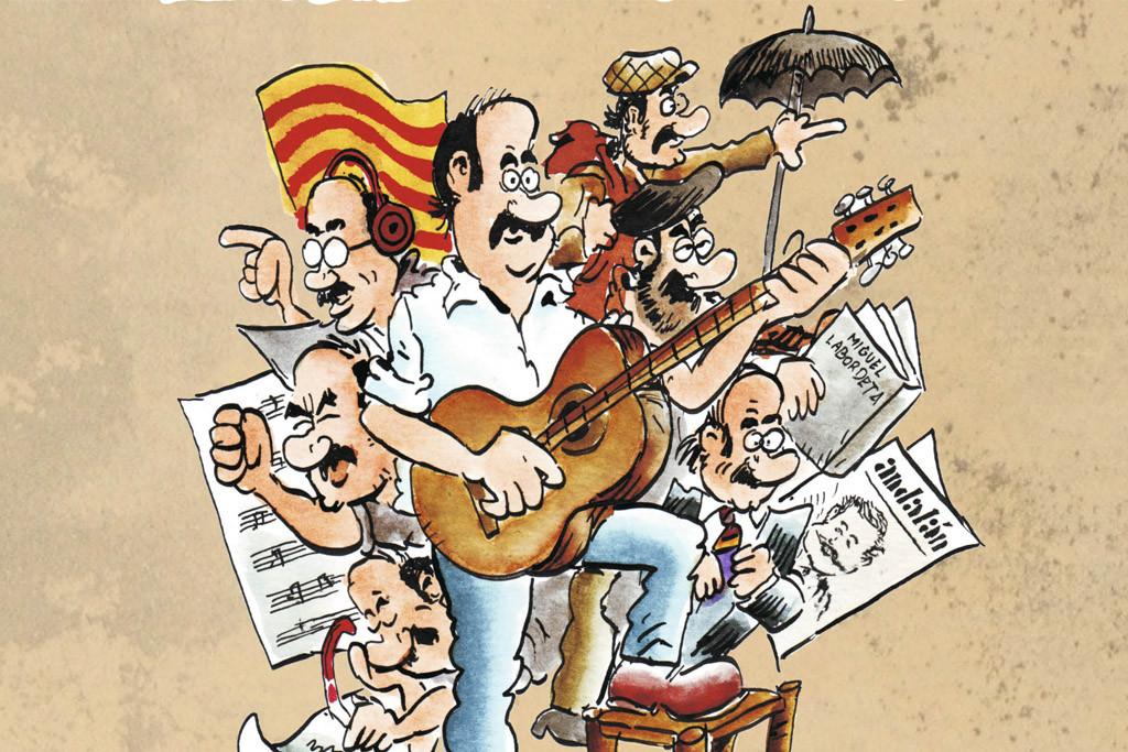 En marcha las rutas de Aragón en la Mochila, el cómic TeBeO Labordeta, el concierto-homenaje y los IV Premios