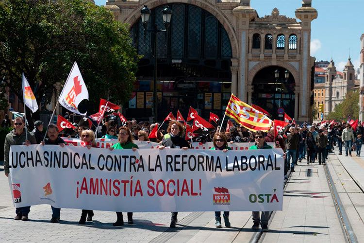 CHA participará en las manifestaciones del Primero de Mayo en Aragón
