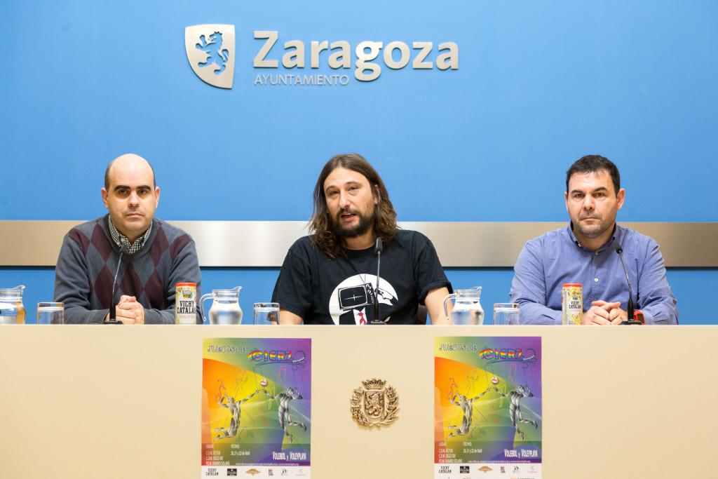 Zaragoza celebra los Juegos del Cierzo, un torneo de voleibol y voley playa con 260 deportistas LGTBIQ