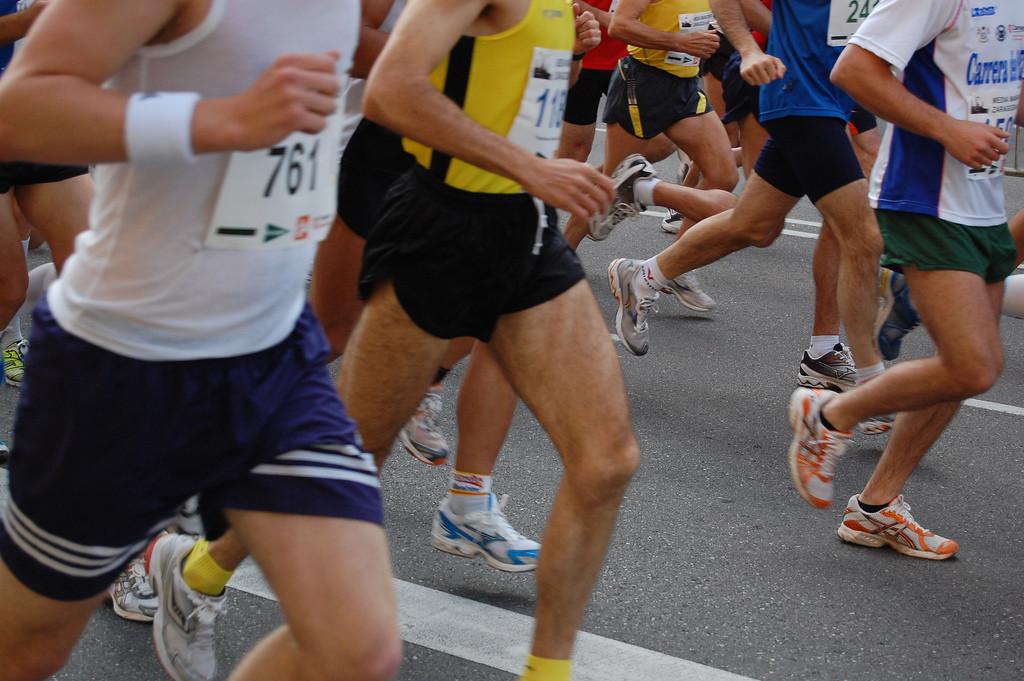 Cancelada la Maratón Ciudad de Zaragoza por la crecida del Ebro