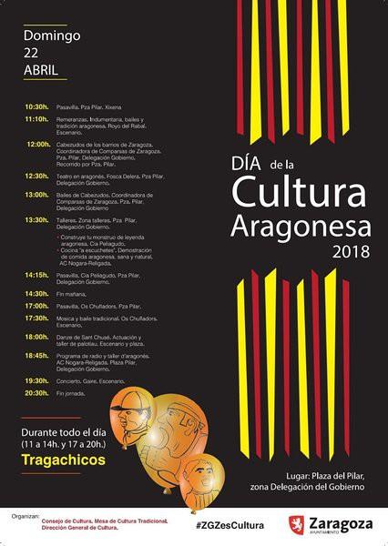 cartel día cultura aragonesa