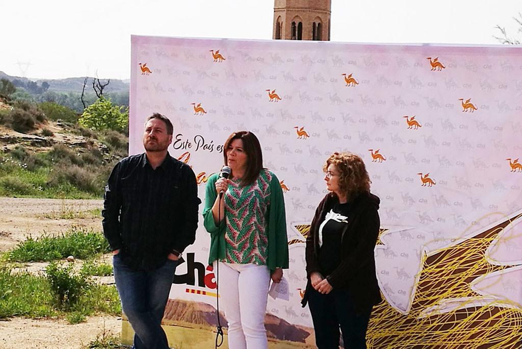 """José Luis Soro llama a la militancia de CHA a """"seguir trabajando por Aragón"""""""