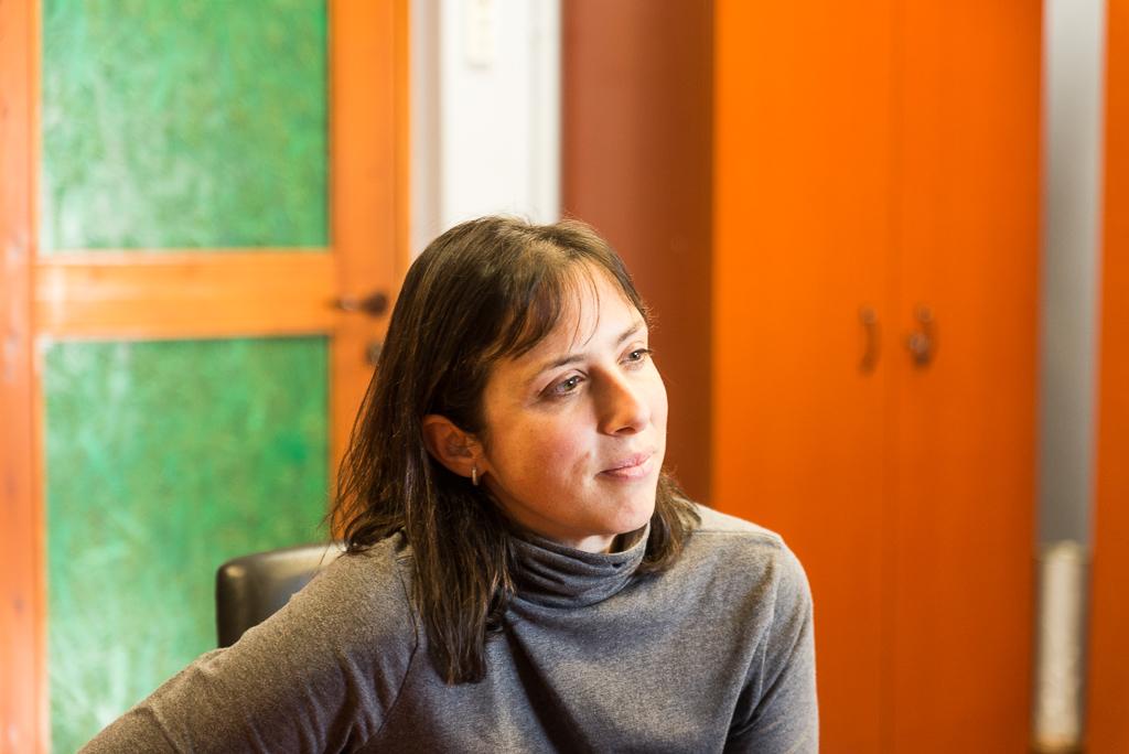 Alicia Valero. Foto: Pablo Ibáñez (AraInfo).