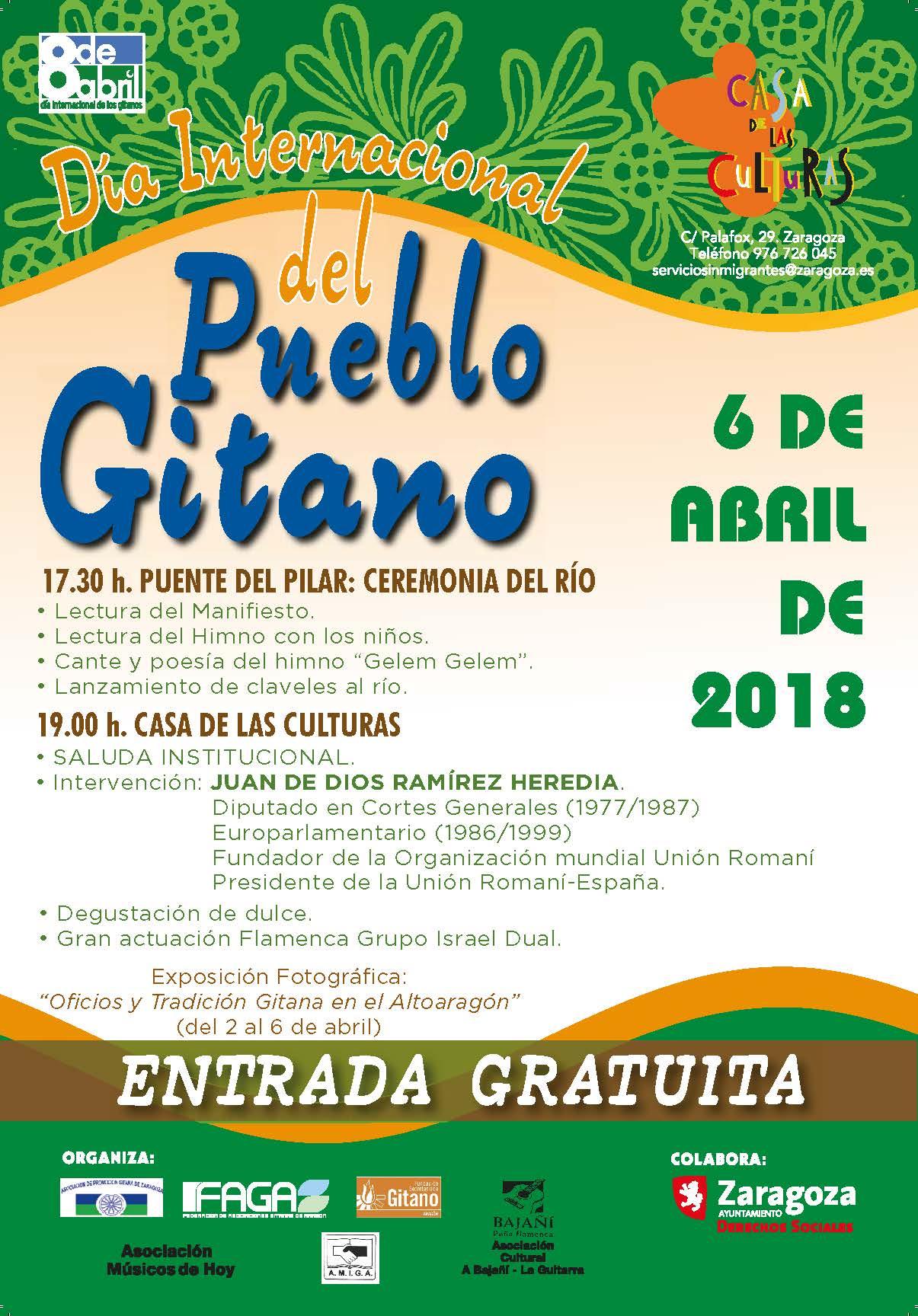 92f81af7bac4 Zaragoza celebra el Día Internacional del Pueblo Gitano