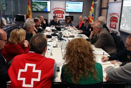 El CECOPI decide mantener la emergencia de nivel 2 un día más