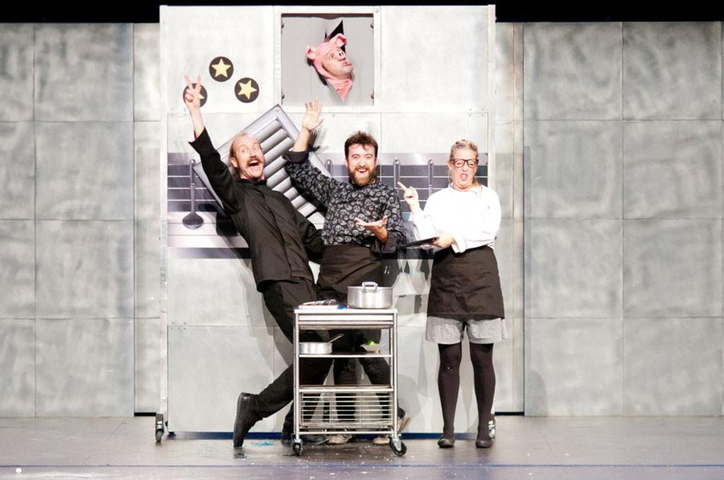 Yllana presenta 'Chefs', su divertida obra de teatro gestual