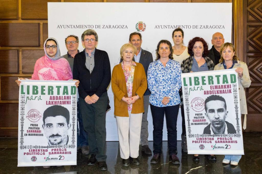 La Comisión Informativa para el Sahara Occidental aborda el caso de la huelga de hambre de los presos de Gdeim Izik
