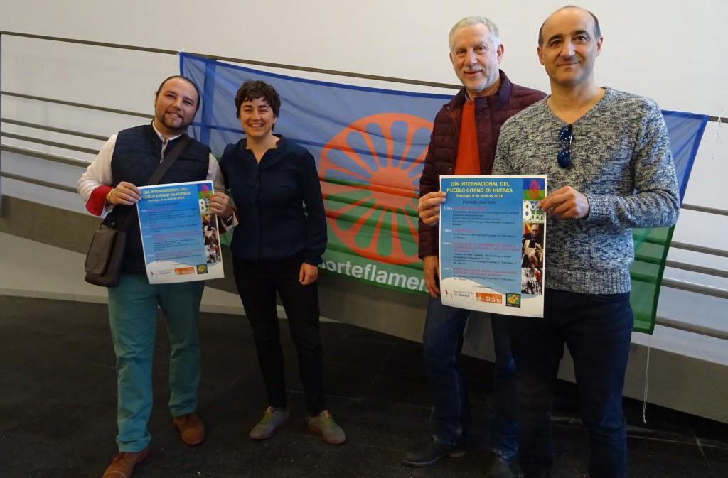 El Ayuntamiento de Uesca conmemora el Día Internacional del Pueblo Gitano