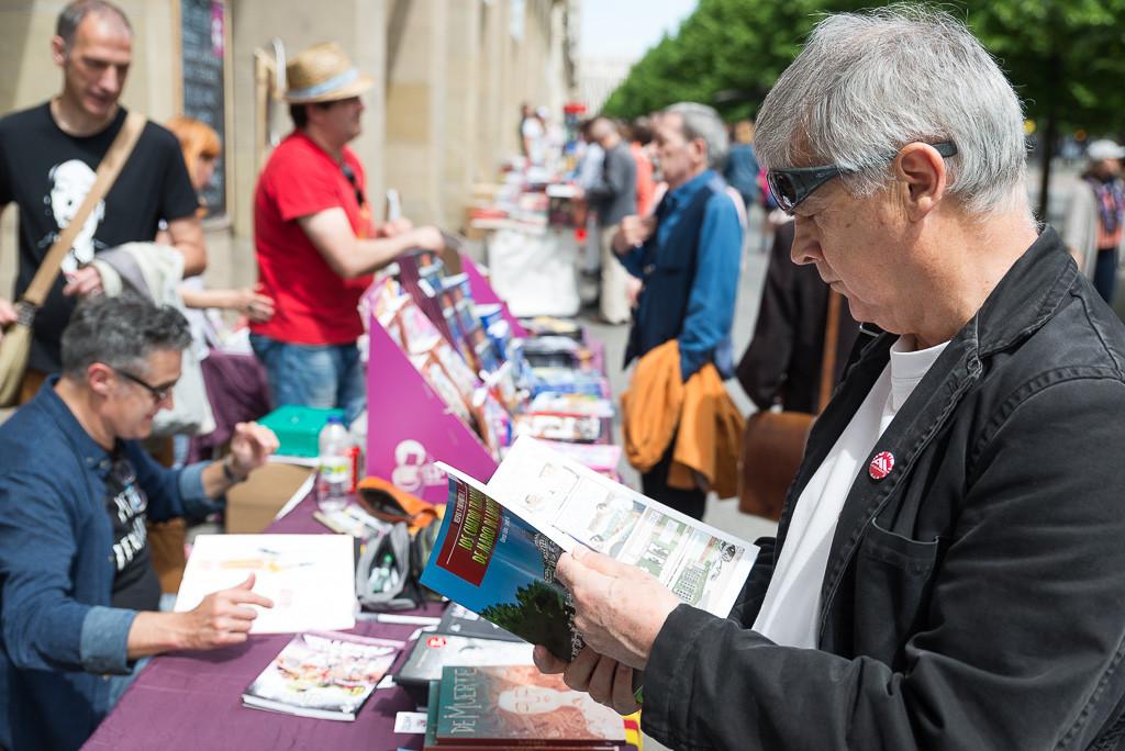 Los libros salen a la calle, del 1 al 10 de junio, en la Feria del Libro de Zaragoza