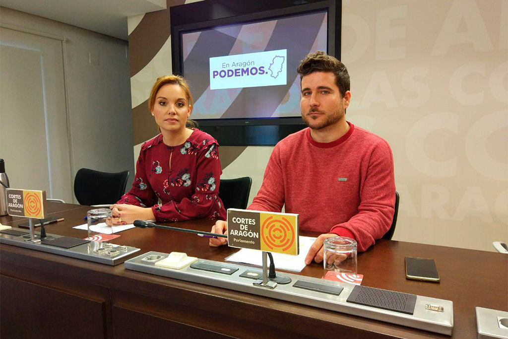 Podemos Aragón pide la comparecencia de Rudi tras conocer que cobra la pensión de europarlamentaria