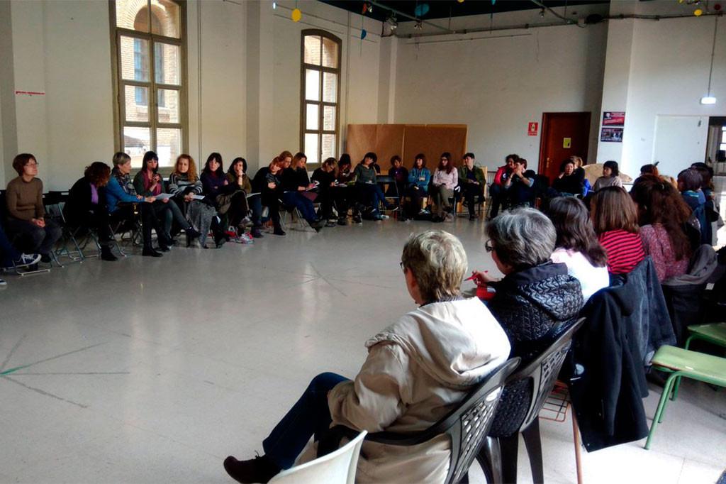 8M Aragón decide continuar trabajando y apoyando a los movimientos sociales del territorio