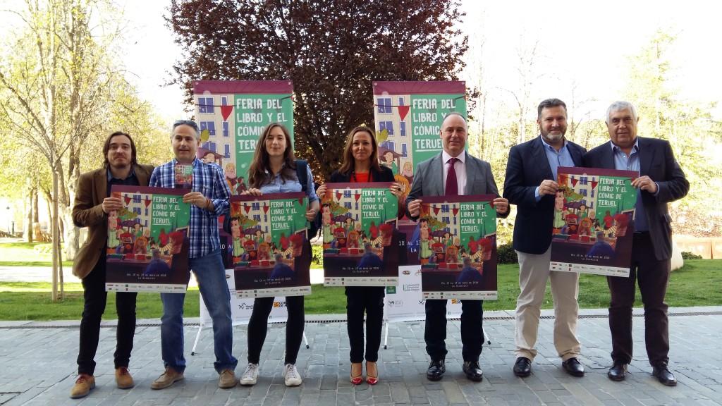 Grandes nombres de la literatura se darán cita en la 'premiere' de las ferias del libro estatales en Teruel