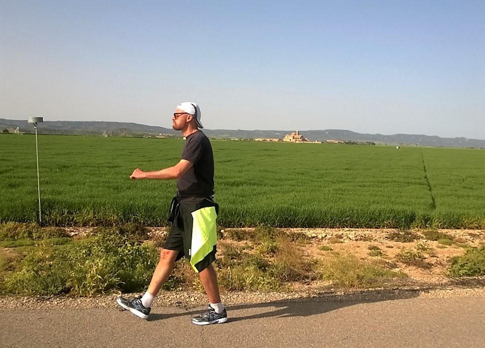 Gabe Abrahams, 1.000 millas por Aragón