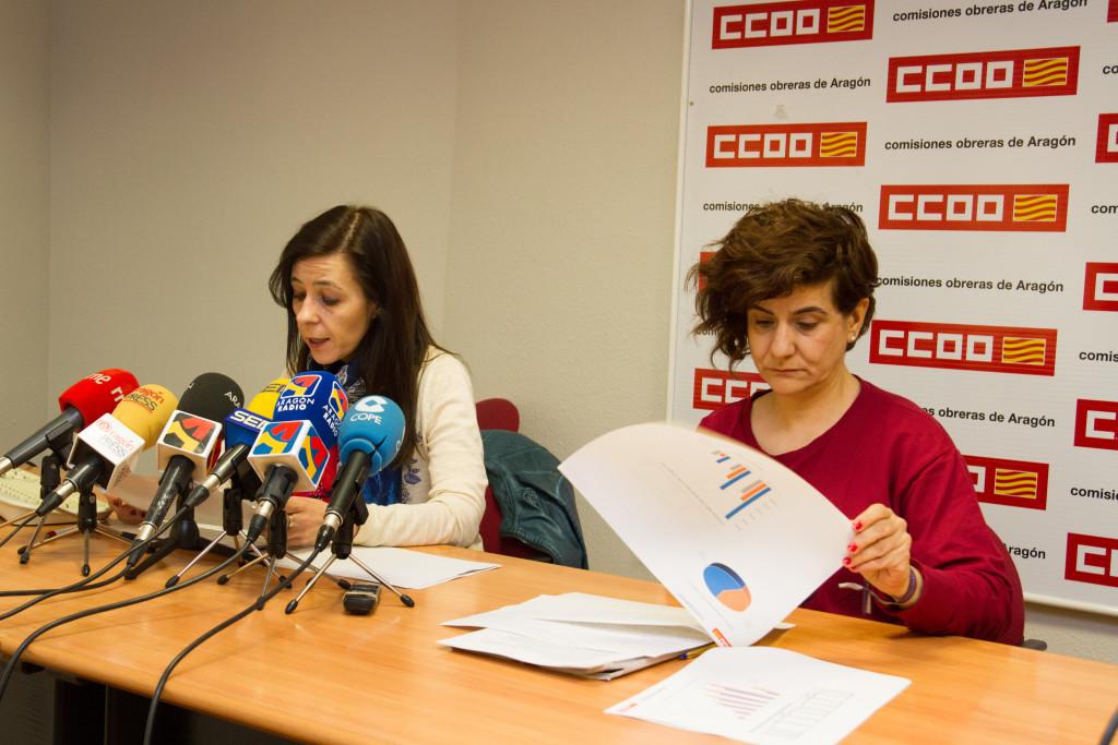 El salario medio de una mujer en Aragón es de 16,226 euros, un 24,66% menos que el del hombre