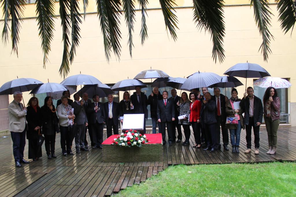 La Diputación de Zaragoza homenajea a 14 trabajadores de la institución asesinados en la Guerra Civil