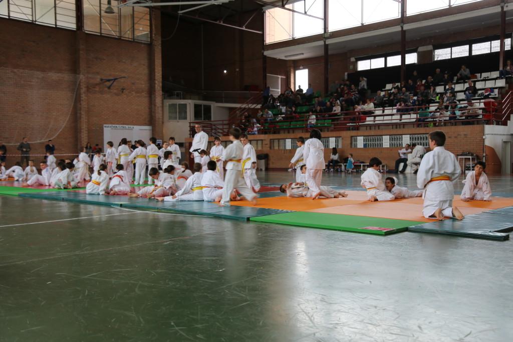 """El IX Torneo de Judo """"Miknas-sa al Zaytún"""" reúne en Mequinensa a 70 judocas"""
