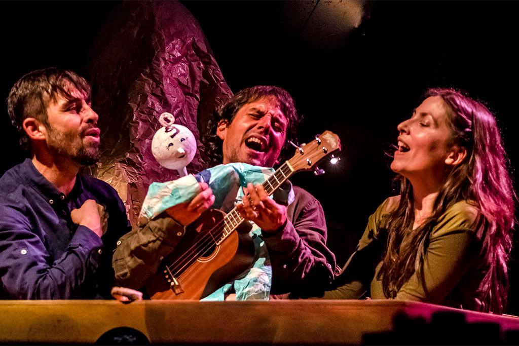 """Bambalina Teatro presenta """"Kiti Kraft"""", la vida de un  títere que ama la música, el canto y las cosas sencillas"""