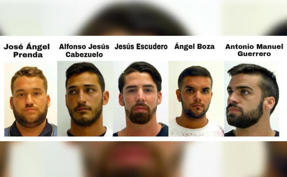 Cuatro integrantes de La Manada son procesados por abusos sexuales y maltrato a una joven en Pozoblanco