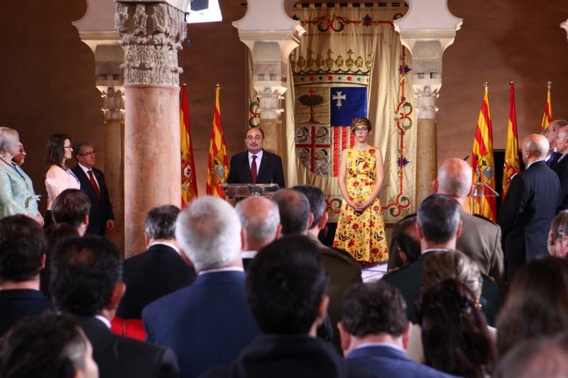 Javier Lambán utiliza el 23 de abril para reclamar la unidad de España