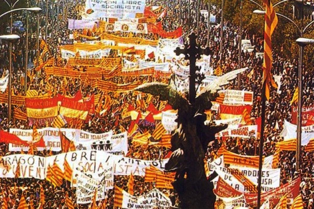 40 años buscando un Aragón libre y solidario