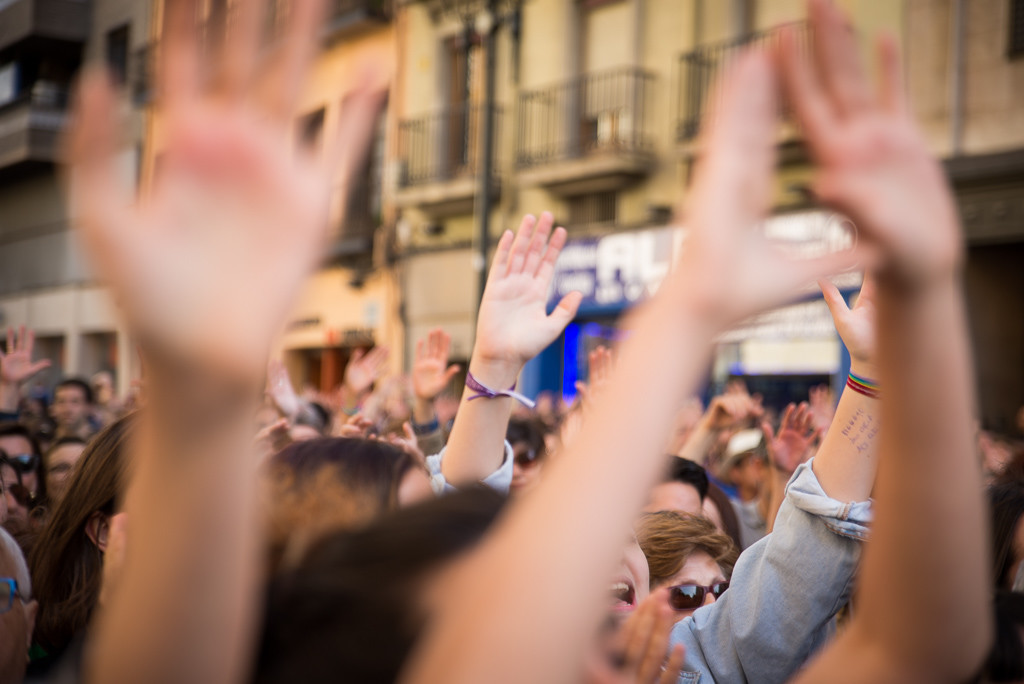 [EN DIRECTO] Ola de movilizaciones feministas: 'Nosotras sí somos manada'
