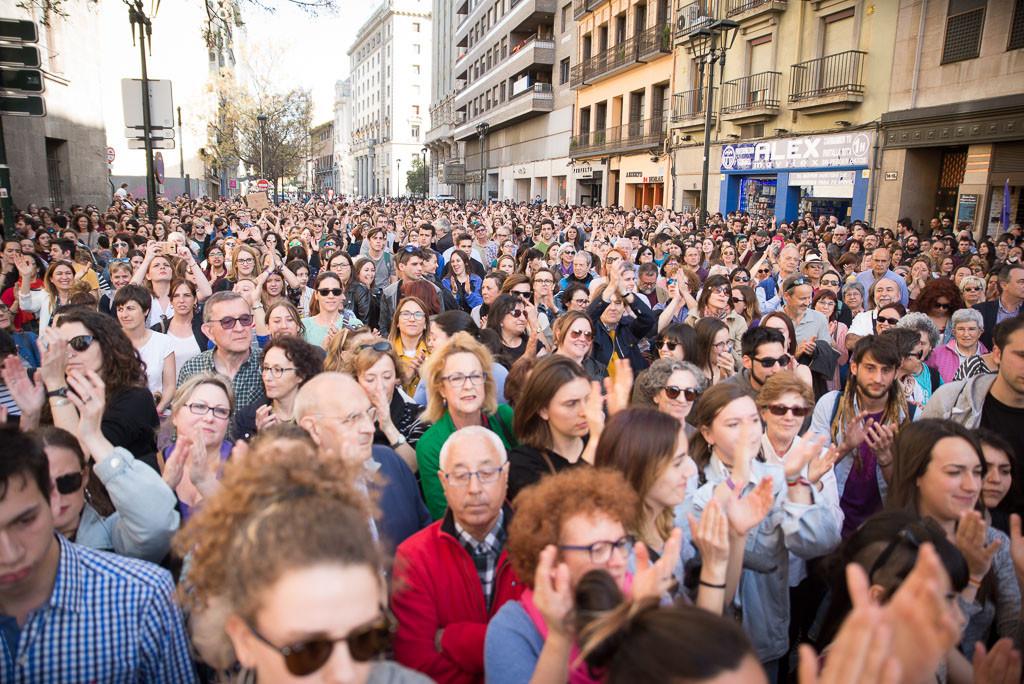 Los barrios de Zaragoza se ponen en marcha hacia la huelga feminista