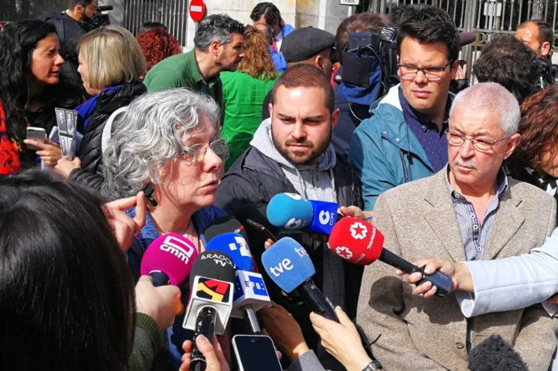 CHA reclama en el Senado que el Estado español facilite el cumplimiento de la sentencia sobre la exhumación de los hermanos Lapeña