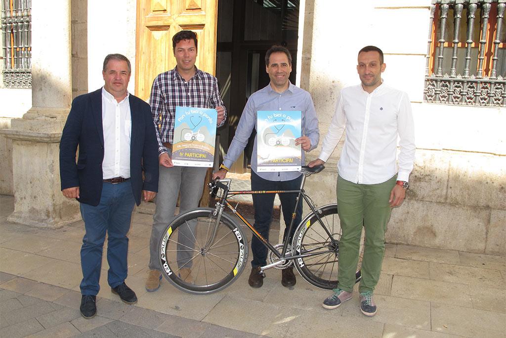 El Mes de la Bici de Teruel comienza con la inspección técnica de bicicletas