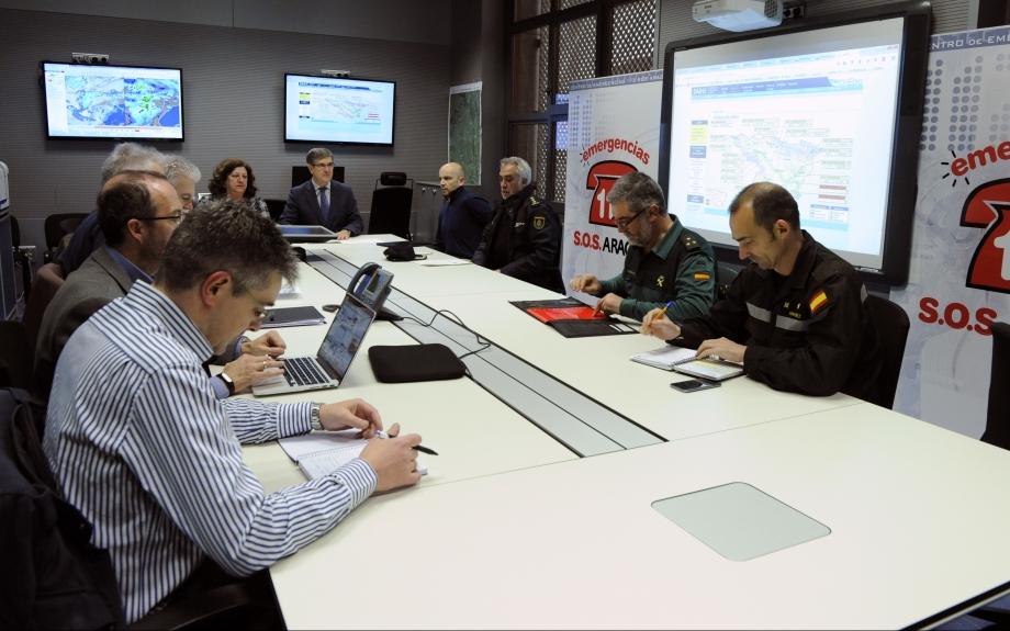 Aragón en alerta ante la inminente llegada de la cuarta borrasca en esta semana