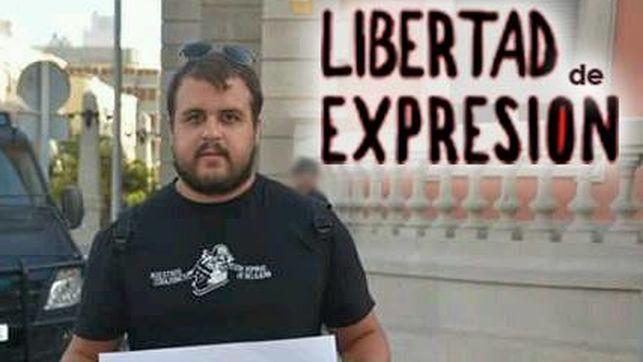 Exigen el cierre del procedimiento por supuestas injurias a la Corona contra el activista canario Roberto Mesa