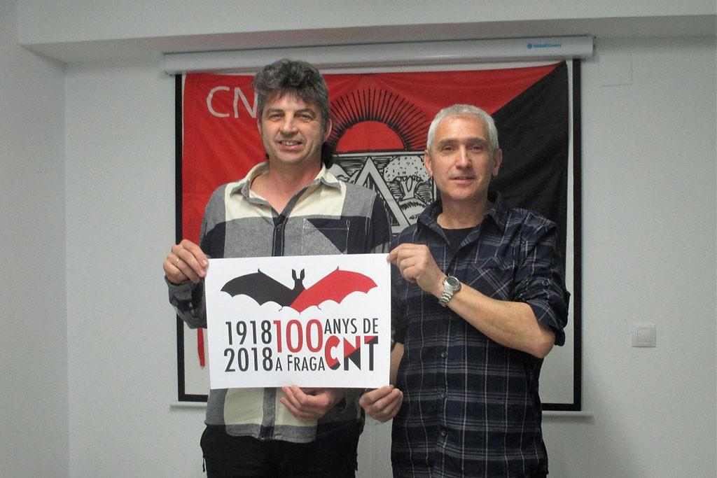 Nuevo acto conmemorativo para repasar los momentos más relevantes de la CNT y del movimiento libertario en Fraga