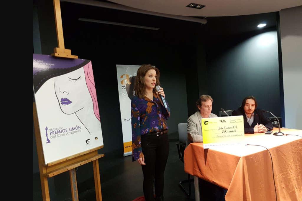 El papel de la mujer en el cine protagoniza el cartel ganador del concurso de la VII Edición de los Premios Simón