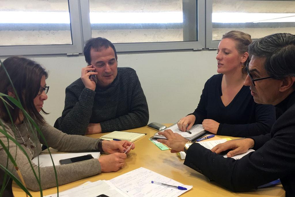 Uesca y Tarbes trabajan en un programa de cooperación cultural en materia de artes plásticas y visuales