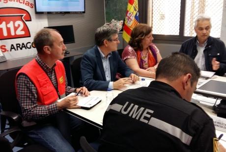 La emergencia por la crecida del Ebro baja al nivel 1