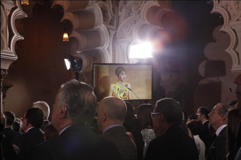 """La presidenta de las Cortes reclama políticas públicas para lograr un Aragón """"verdaderamente comprometido con la igualdad"""""""