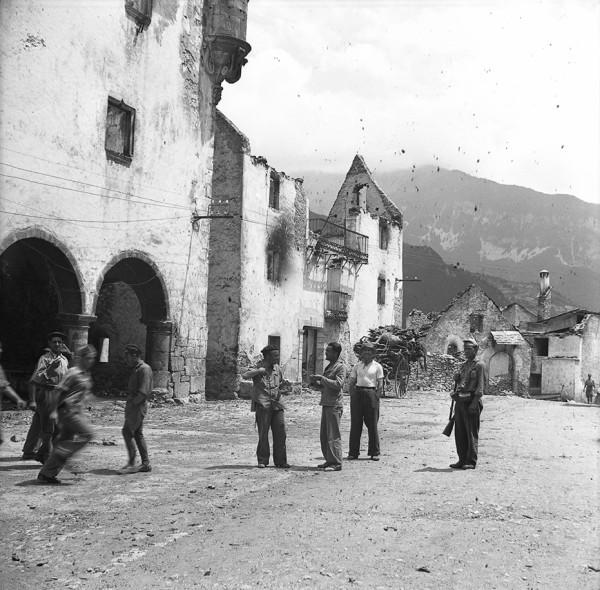 Bielsa. La zona estuvo asediada durante 63 días, forjando la leyenda de la resistencia republicana. Foto cedida por José María Escalona.