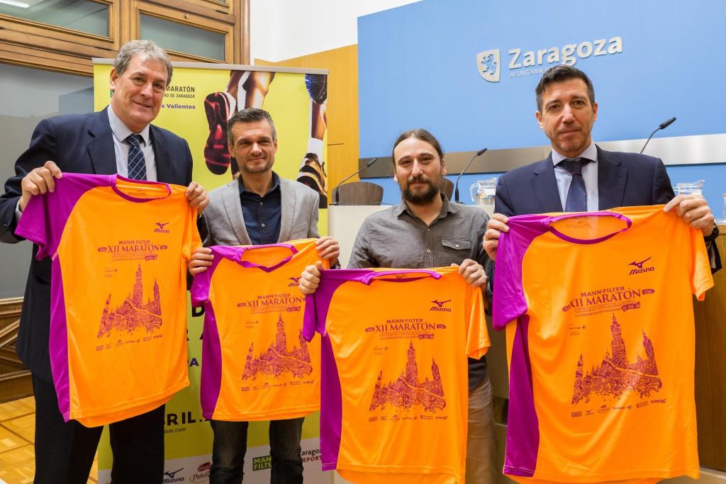 El XII Maratón Mann Filter Ciudad de Zaragoza llega este domingo con 1.300 participantes y 1.800 para la 10K