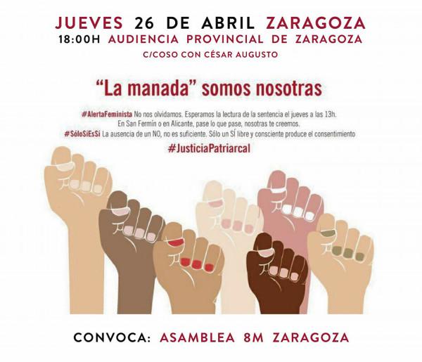 Concentración en Zaragoza