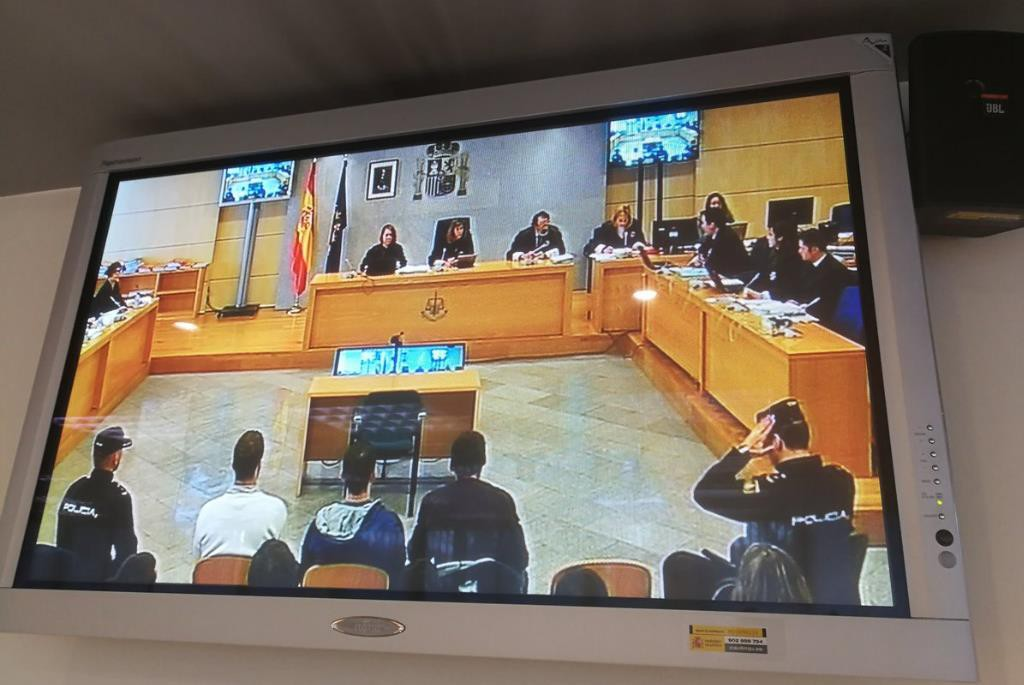 """Los jóvenes acusados de """"terrorismo"""" en el caso de Altsasu aseguran que no tuvieron nada que ver con ninguna agresión"""