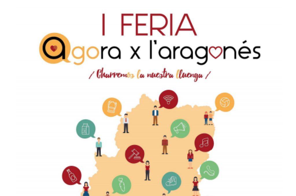 Zaragoza acoge el 14 de abril la primera Feria Agora x l'aragonés