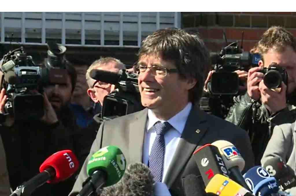 La Fiscalía de Schleswig-Holstein pide la extradición de Puigdemont por rebelión y malversación
